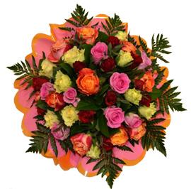 Nos bouquets et compositions florales pour un remerciement, un anniversaire, une fête.